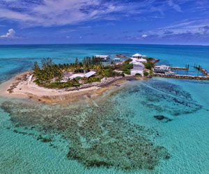 Isla privada en Bahamas