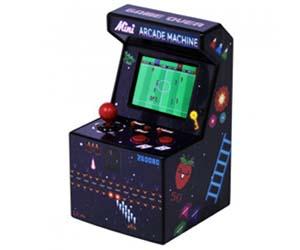 mini máquina marcianos arcade