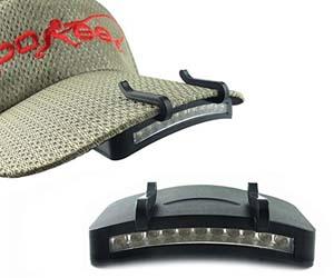 luz LED para gorra