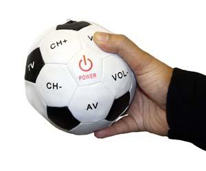 mando a distancia en forma de pelota