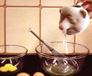 separa claras de huevo