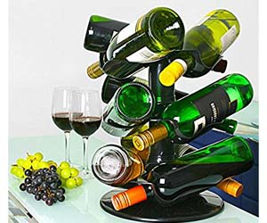 Botellero giratorio (capacidad para 9 botellas)