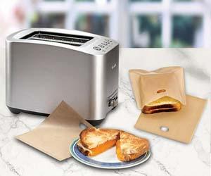 Bolsas para hacer sandwiches en tostadora