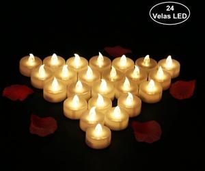24 Velas LED