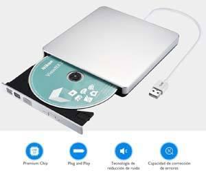 Grabadora DVD CD