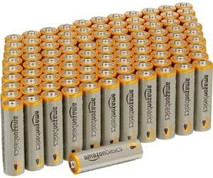100 pilas alcalinas AA