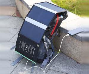 Cargador Panel Solar 21W