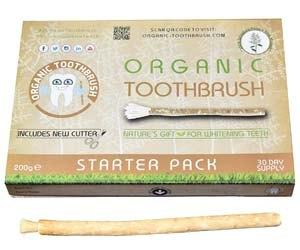 Cepillo de Dientes Orgánico y blanqueante