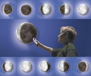 Lámpara luz de Luna