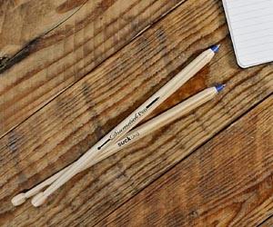 2 Bolígrafos Baquetas