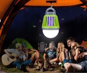 Linterna Antimosquitos