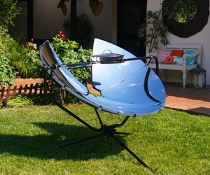 Parrilla/horno Solar