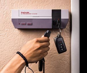 Estante Llavero Nintendo