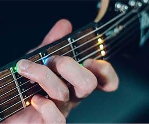 Guía LED para Guitarra