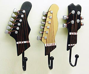 3 Percheros Guitarra