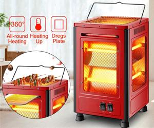 Calefactor 5 lados