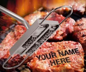 Marcador de Carne a la parrilla