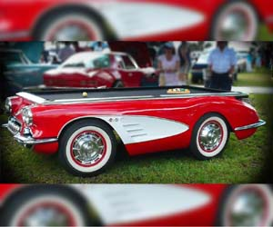 Mesa Billar Corvette 1959
