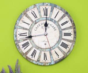 Reloj de pared estilo toscano