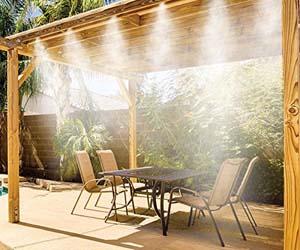 Nebulización-Rociador de terraza 7.5 m