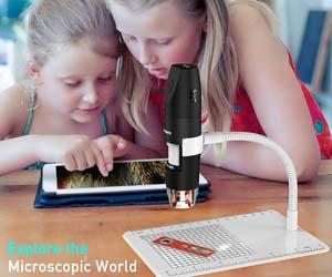 Microscopio Digital Inalámbrico, USB