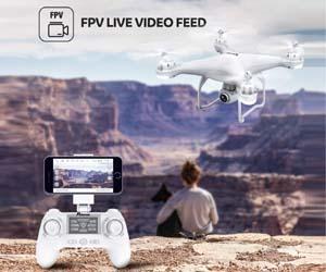 Drone GPS, Drone con Cámara 1080P HD con Follow Me