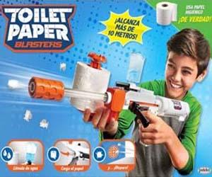 Fusil TP Blaster papel de váter