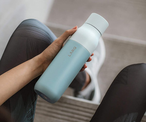 Botella de autolimpieza inteligente