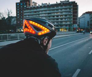 casco inteligente bicicleta