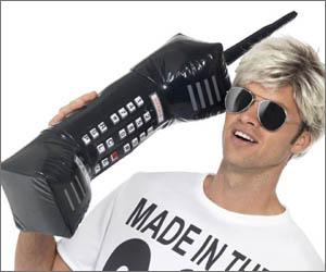 Teléfono Móvil Retro Hinchable