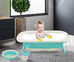 Bañera para Bebé Plegable 3 en 1