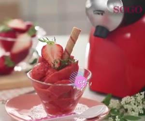 Heladera, Maquina de helado